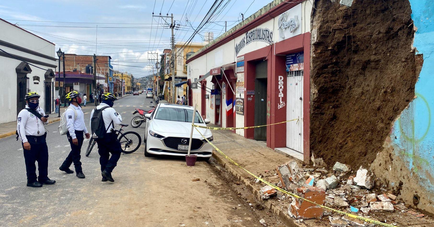 SUMAN SIETE MUERTOS POR EL SISMO DE 7.5 EN OAXACA