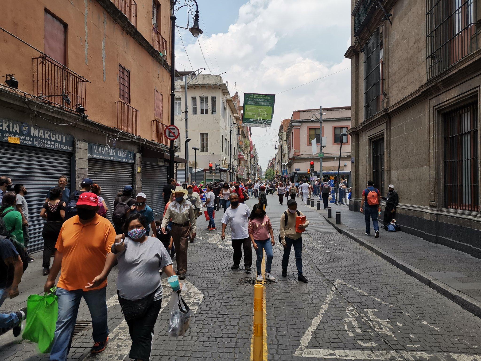 GALERÍA: ASÍ LUCEN LAS CALLES DEL CENTRO HISTÓRICO DE LA CDMX