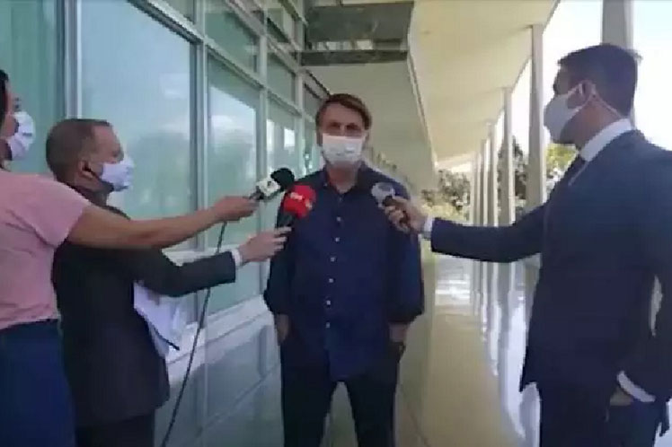 PRENSA BRASILEÑA DENUNCIARÁ AL PRESIDENTE DE BRASIL