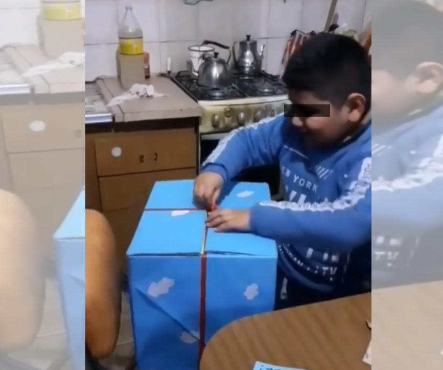 VIDEO: NIÑO PIDE COMO DESEO TENER UNA FAMILIA HERMOSA