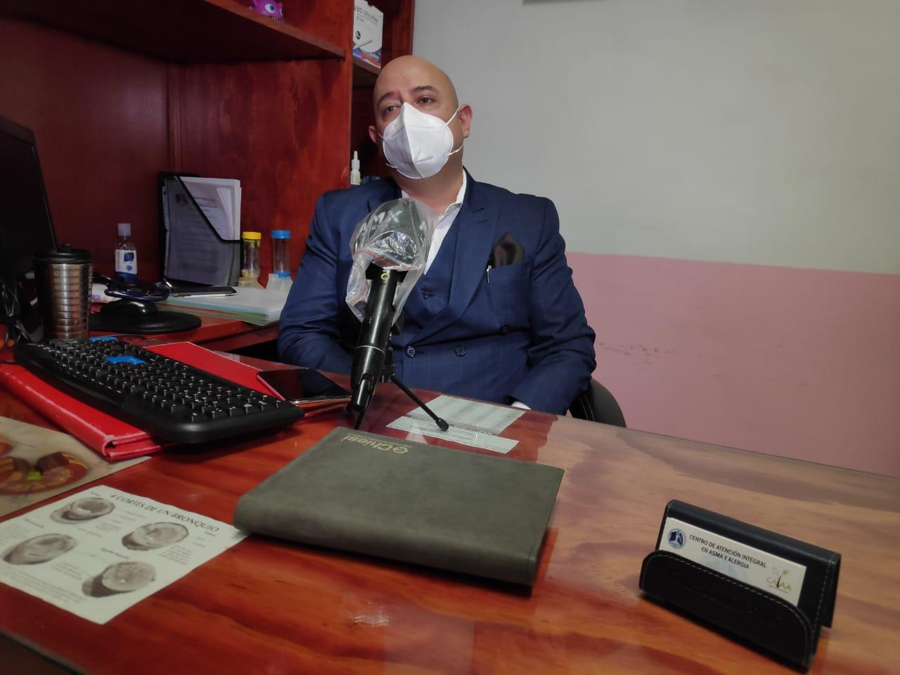 USAR EL CUBREBOCAS POR LARGOS PERIODOS PODRÍA PROVOCAR REACCIONES ALÉRGICAS