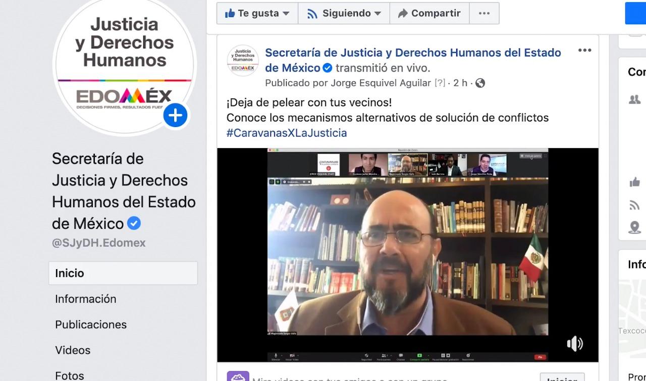 EDOMÉX BRINDA ASESORÍA EN SOLUCIÓN DE CONFLICTOS ENTRE PARTICULARES