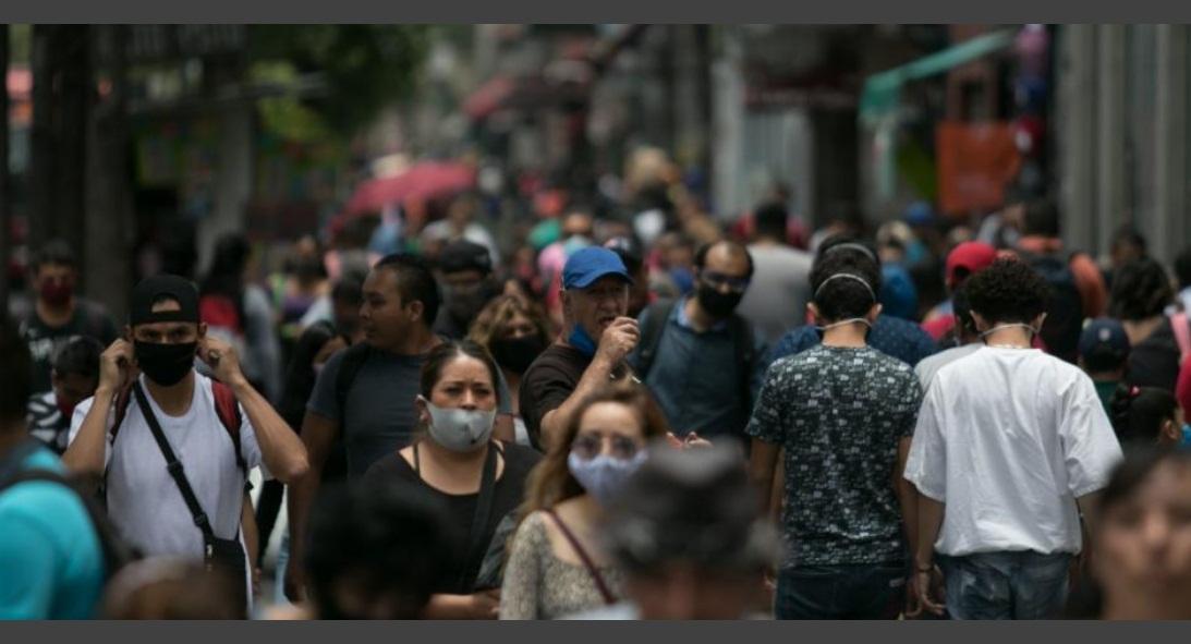 MÉXICO ACUMULA 591 MIL 712 CONTAGIOS DE COVID-19 Y 63 MIL 819 MUERTES