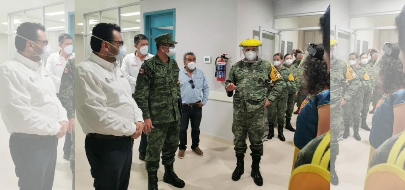 HOSPITAL MILITAR DE OAXACA GANA RIFA DE AVIÓN PRESIDENCIAL