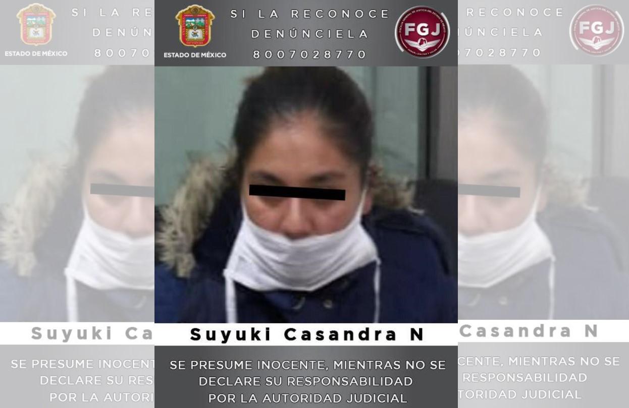 ARRESTAN A MUJER POR EL PRESUNTO HOMICIDIO DE SU PAREJA SENTIMENTAL EN ZUMPANGO