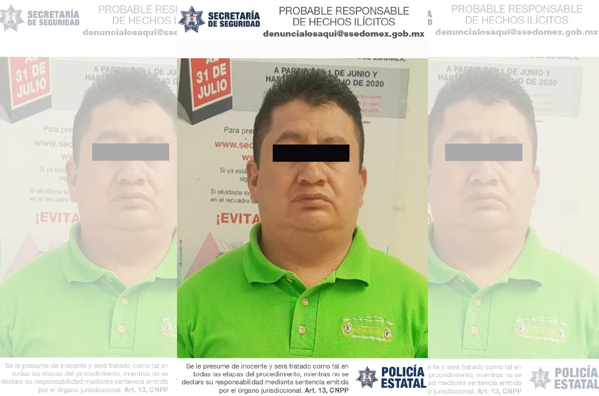 CAPTURAN A SUJETO POR CONDUCIR VEHÍCULO APÓCRIFO DE SERVICIO DE TRANSPORTE PÚBLICO