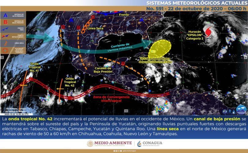 HAY BAJA PROBABILIDAD DE LLUVIA PARA HOY EN EL VALLE DE MÉXICO