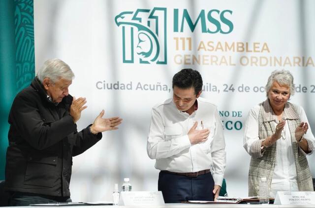 IMSS TENDRÁ EL PRESUPUESTO MÁS GRANDE DE LA HISTORIA: ZOÉ ROBLEDO