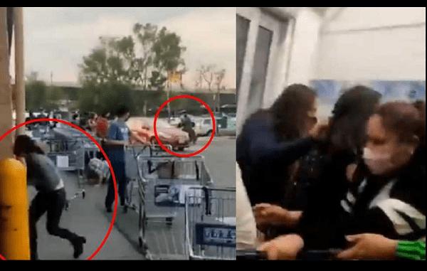 VIDEO: SE REGISTRA BALACERA EN ESTACIONAMIENTO DE SAM'S SAN JERÓNIMO