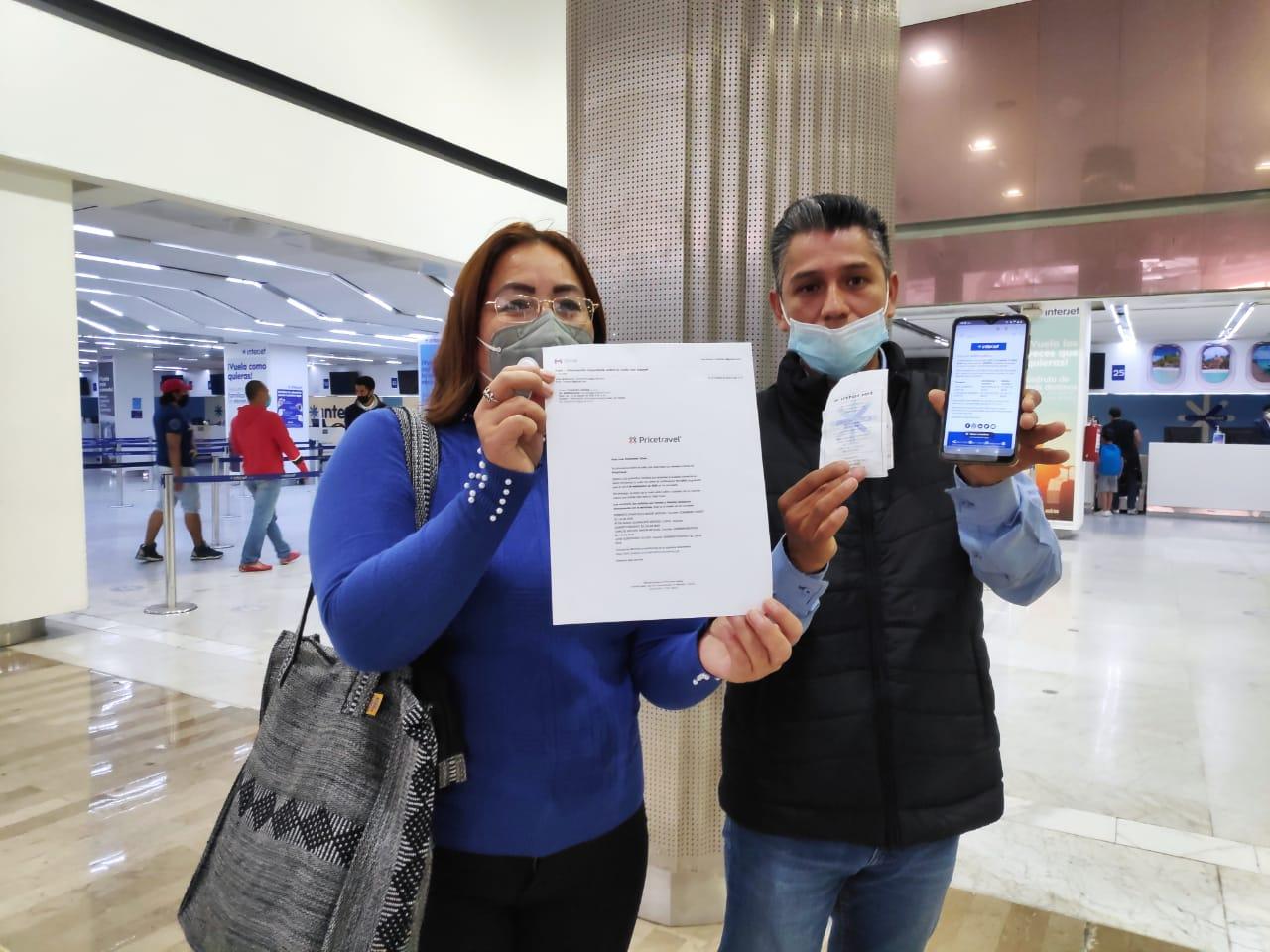 INTERJET CANCELA VUELOS DE USUARIOS POR COVID-19