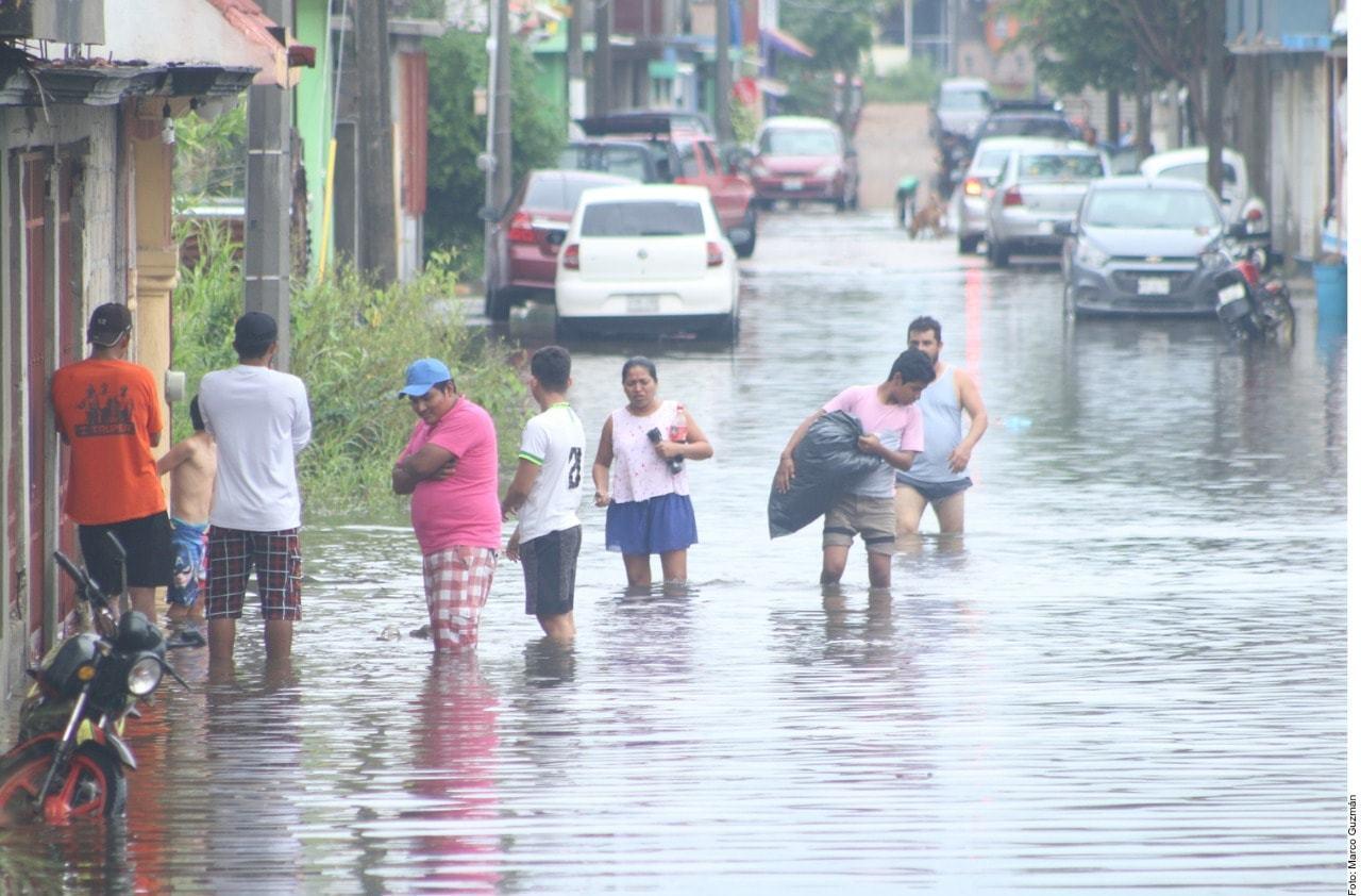 TABASCO, VERACRUZ Y CAMPECHE SON LOS ESTADOS MÁS AFECTADOS POR LLUVIAS