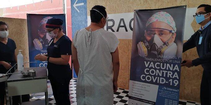 APLICAN PRIMERAS VACUNAS EXPERIMENTALES CONTRA COVID-19 EN OAXACA