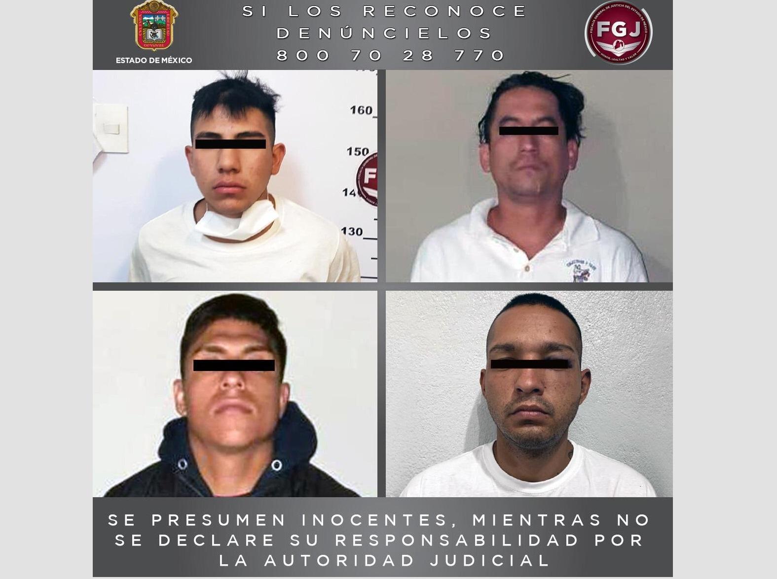 VINCULAN A PROCESO A CUATRO SUJETOS POR EL DELITO DE ROBO DE VEHÍCULO CON VIOLENCIA