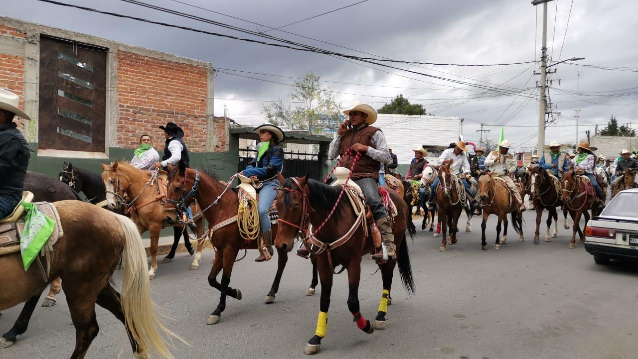 GALERÍA: CON CABALGATA CONMEMORAN 110 ANIVERSARIO DE LA REVOLUCIÓN MEXICANA EN CUAUTITLÁN IZCALLI