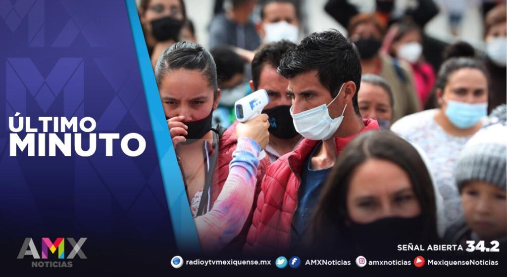 MÉXICO ALCANZA 109 MIL 456 MUERTES POR COVID-19 Y UN MILLÓN 168 MIL 395 CONTAGIOS