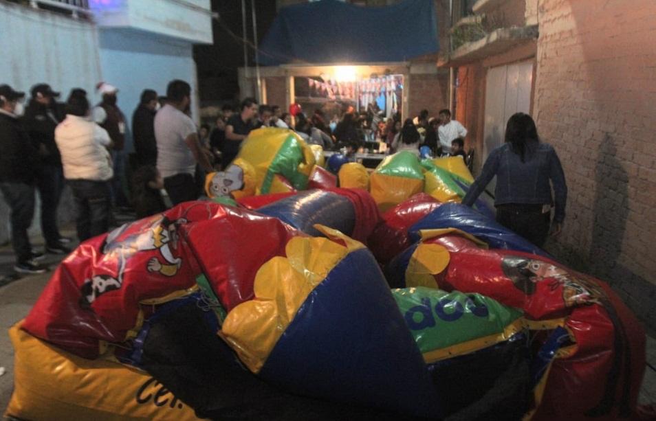 CONTINÚAN FIESTAS EN ECATEPEC PESE A REPUNTE DE COVID-19