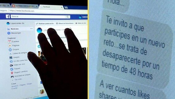 ALERTAN A PADRES DE FAMILIA POR RETO DE LAS 48 HORAS EN REDES SOCIALES