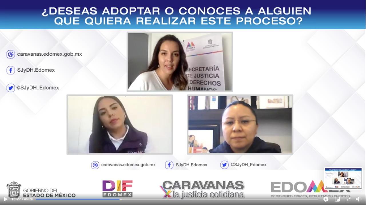 CARAVANAS POR LA JUSTICIA COTIDIANA PROMUEVEN ADOPCIÓN EN EL EDOMÉX