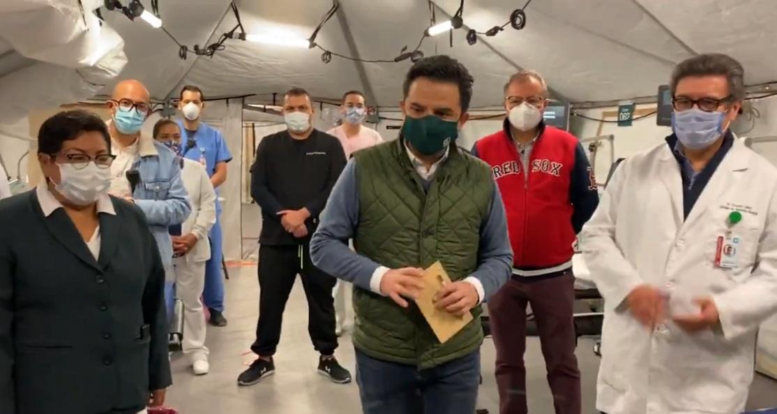 ZOÉ ROBLEDO VISITA HOSPITAL AUTÓDROMO HERMANOS RODRÍGUEZ Y ANUNCIA AMPLIACIÓN