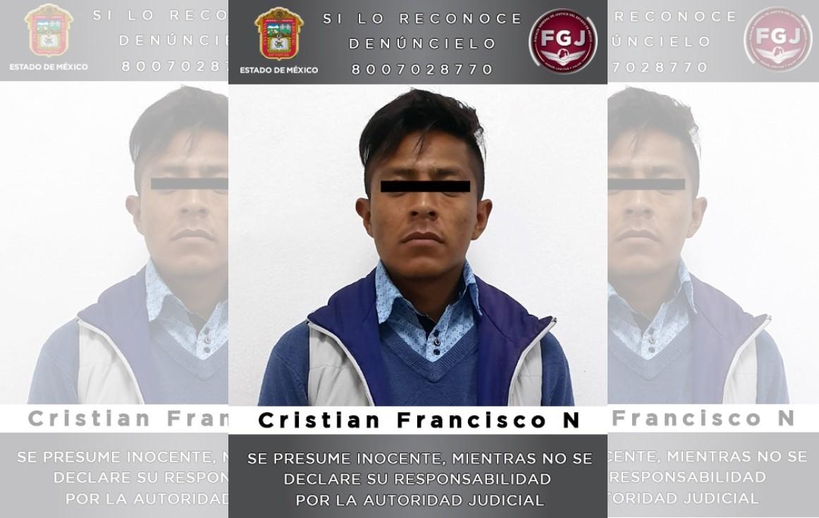 PROCESAN PRESUNTO ASALTANTE DE DOS VEHÍCULOS EN TULTITLÁN Y TEOLOYUCAN