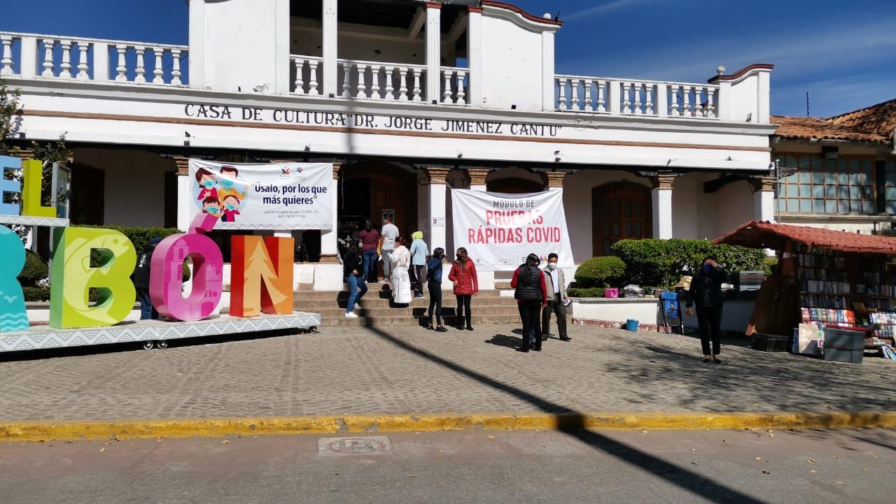 PRUEBAS RÁPIDAS Y RECARGA DE TANQUES DE OXÍGENO GRATUITA EN VILLA DEL CARBÓN