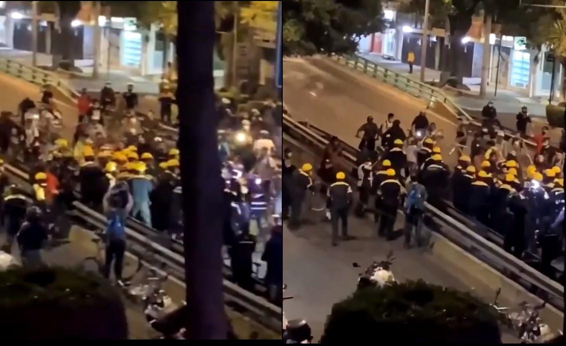 VIDEO: SSC INVESTIGA ENFRENTAMIENTO ENTRE CICLISTAS Y POLICÍAS EN AV. INSURGENTES