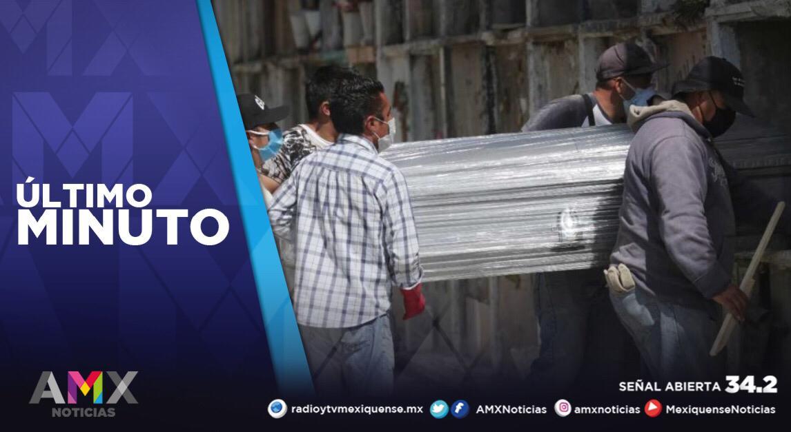 EDOMÉX SE ACERCA A LOS 22 MIL FALLECIDOS POR COVID-19