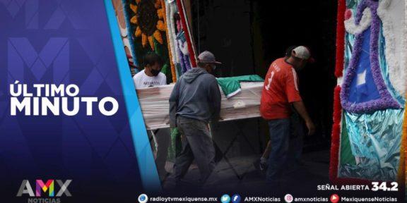 MÉXICO ACUMULA 173 MIL 771 FALLECIMIENTOS