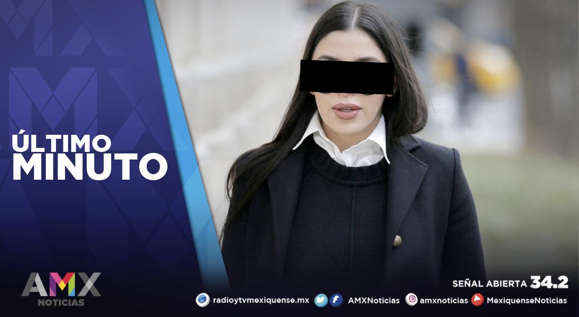 EMMA CORONEL QUEDARÁ DETENIDA SIN DERECHO A FIANZA