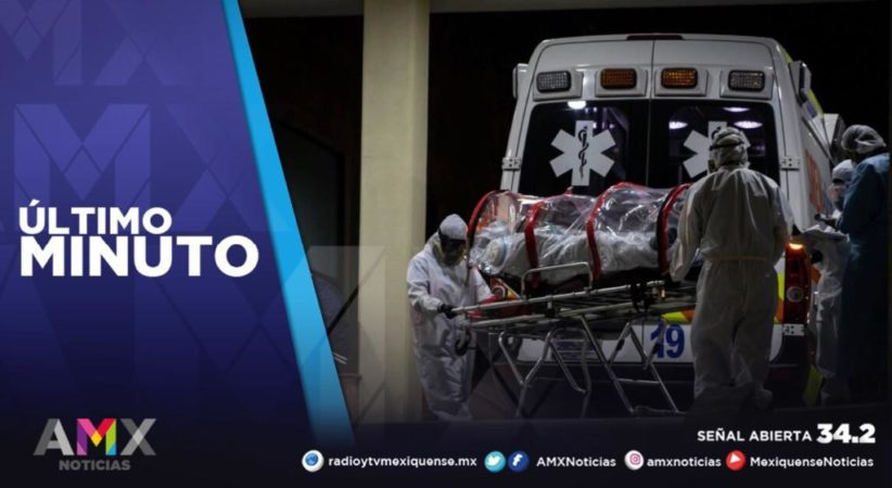MÁS DE 2 MIL MEXIQUENSES SE ENCUENTRAN HOSPITALIZADOS POR COVID-19