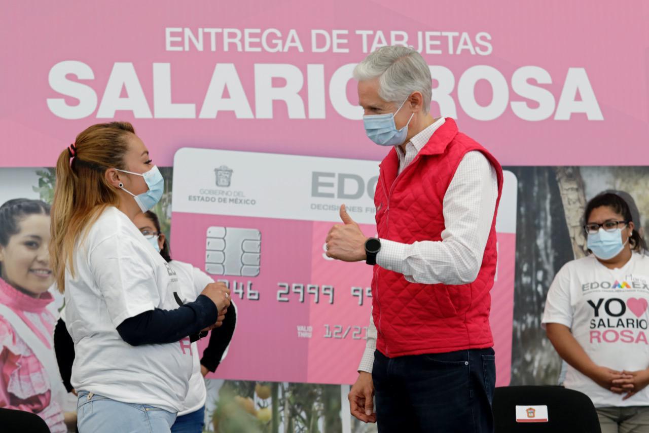EL SALARIO ROSA ES UN APOYO A LA ECONOMÍA FAMILIAR MEXIQUENSE: ALFREDO DEL MAZO
