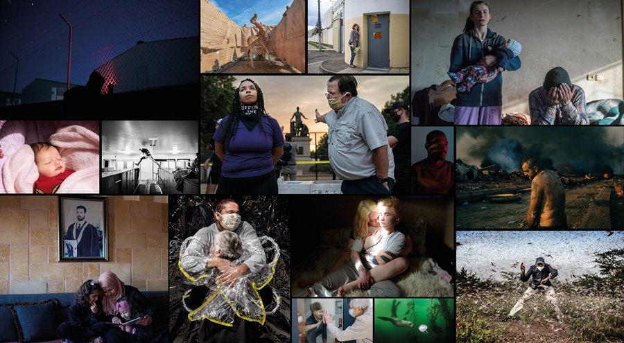 ABRAZOS, COVID Y PLAGA…SON LAS FOTOS NOMINADAS AL WORLD PRESS PHOTO 2021