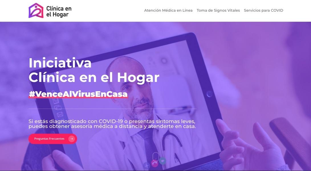 """EMPRESAS LANZAN LA PLATAFORMA """"CLÍNICA EN EL HOGAR"""""""