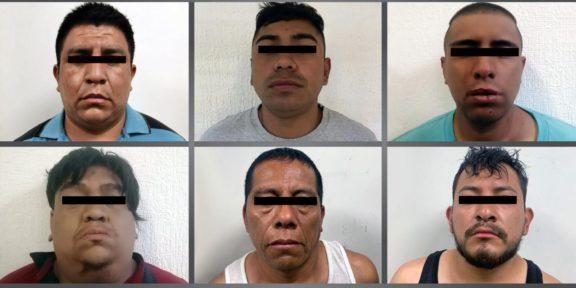 DETIENEN A SEIS PROBABLES INTEGRANTES DE UNA BANDA DELICTIVA GENERADORA DE VIOLENCIA EN CHIMALHUACÁN