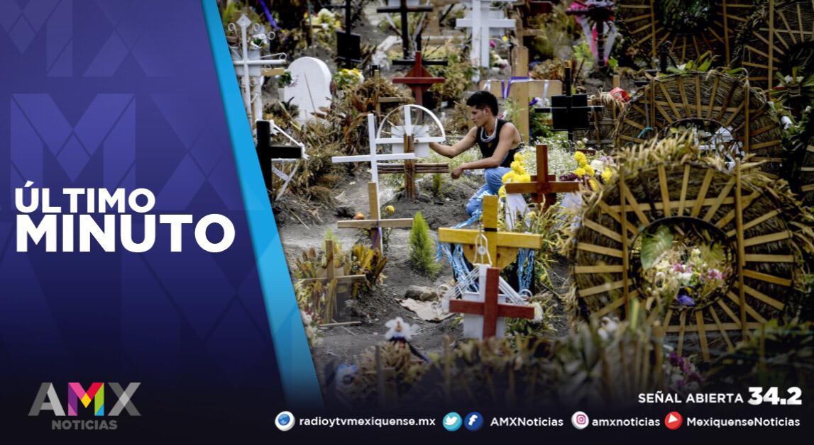 EDOMÉX SUMA 25 MIL 742 MUERTES POR COVID-19 EN VIERNES SANTO