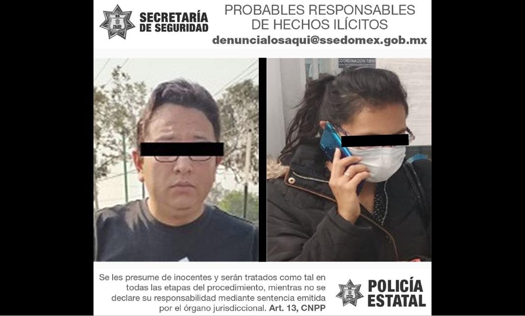 RECUPERAN VEHÍCULO ROBADO CON VIOLENCIA Y DETIENEN A DOS PERSONAS