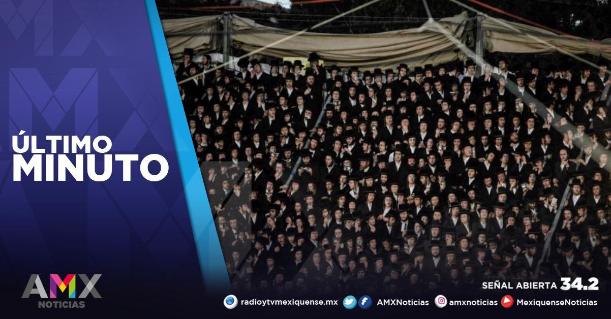 MUEREN AL MENOS 40 PERSONAS EN UNA ESTAMPIDA DURANTE FESTIVAL RELIGIOSO EN ISRAEL