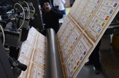 EMPIEZA LA PRODUCCIÓN DE 27.5 MILLONES DE BOLETAS ELECTORALES PARA EL EDOMÉX