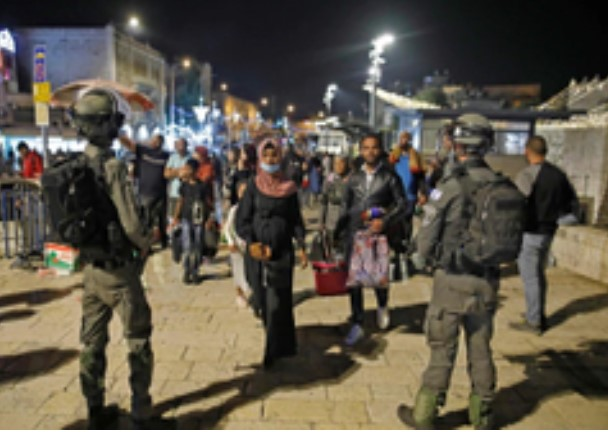 JERUSALÉN VUELVE A SER EL FOCO DE TENSIÓN ENTRE PALESTINOS E ISRAELÍES
