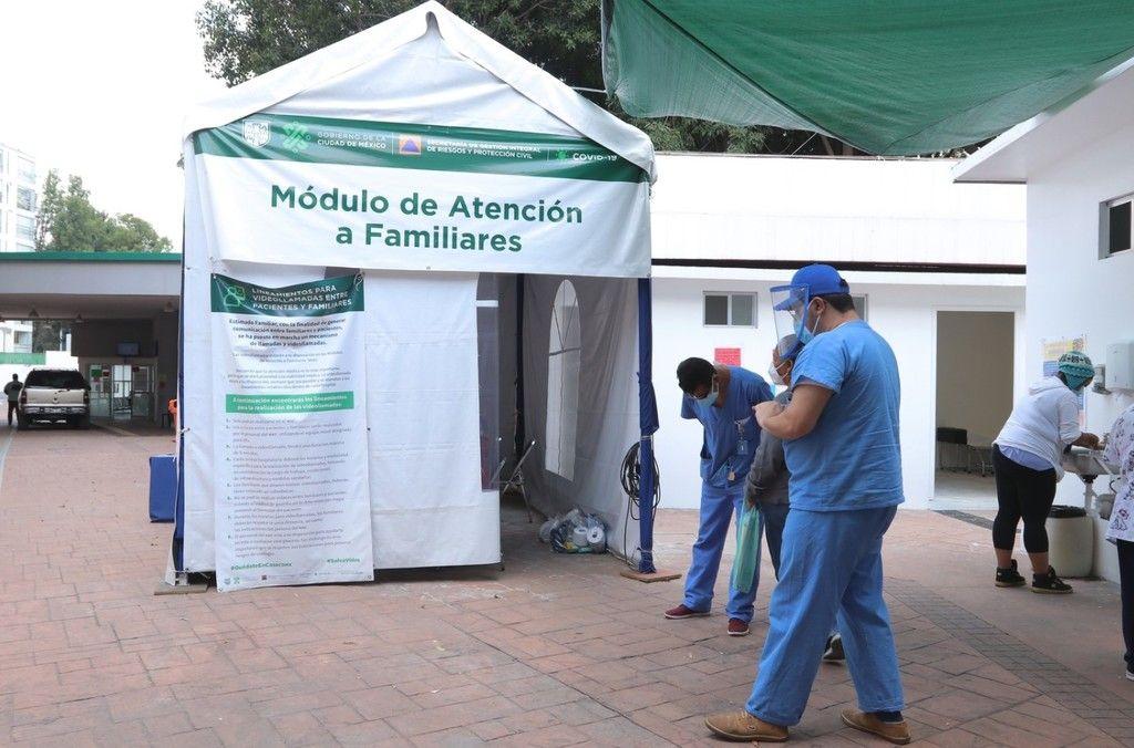 IMSS INICIARÁ DESCONVERSIÓN EN HOSPITALES COVID DE LA CDMX