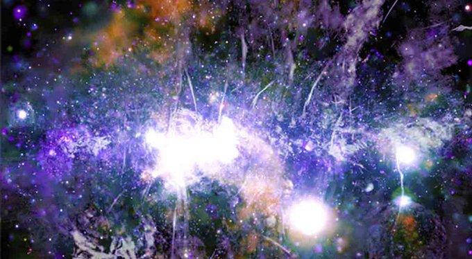 NASA DIFUNDE FOTO PANORÁMICA DEL CENTRO DE LA VÍA LÁCTEA