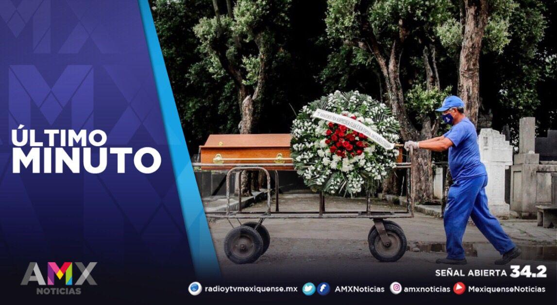 MÉXICO ACUMULA 228 MIL 754 FALLECIMIENTOS A CAUSA DEL COVID-19