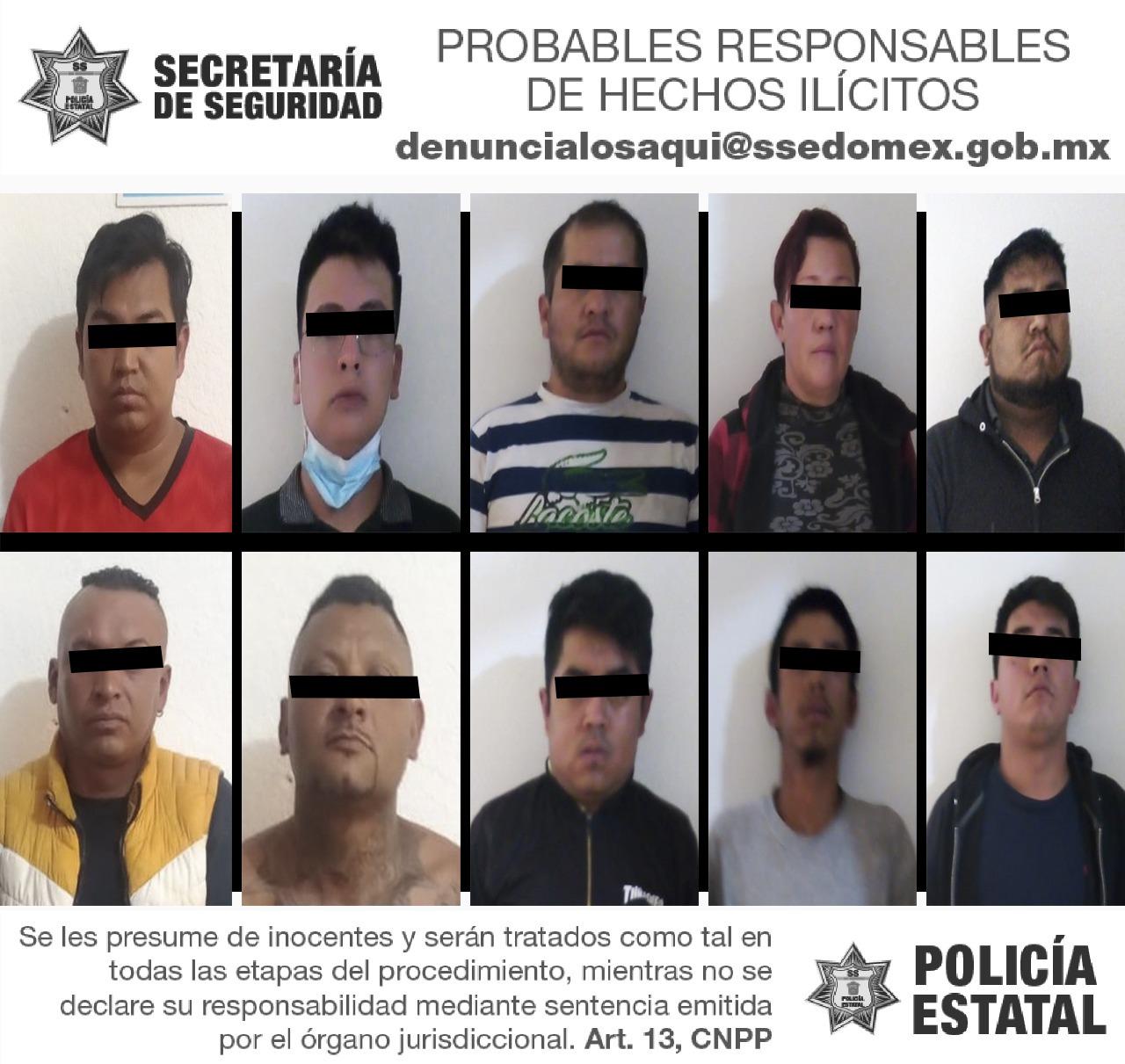 DETIENEN A 10 POSIBLES RESPONSABLES DE COMETER DISTURBIOS DURANTE EL SUFRAGIO