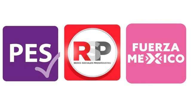 PES, FUERZA POR MÉXICO Y RSP PODRÍAN PERDER SU REGISTRO POR FALTA DE VOTOS
