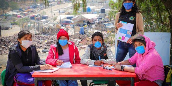 DESERCIÓN ESCOLAR CON CLASES PRESENCIALES EN EL TIRADERO DE CHIMALHUACÁN