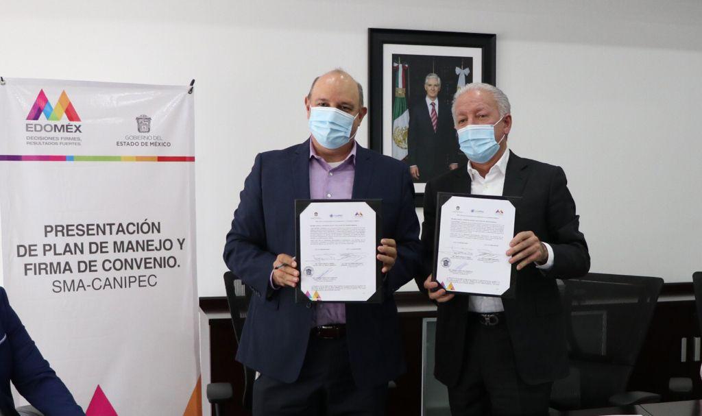 FIRMAN GEM Y CANIPEC CONVENIO EN MATERIA DE ECONOMÍA CIRCULAR Y MANEJO DE RESIDUOS POST-CONSUMO