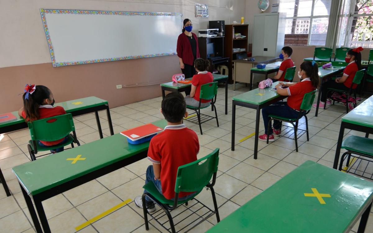 EL REGRESO A CLASES PRESENCIALES ES VOLUNTARIO: SEP
