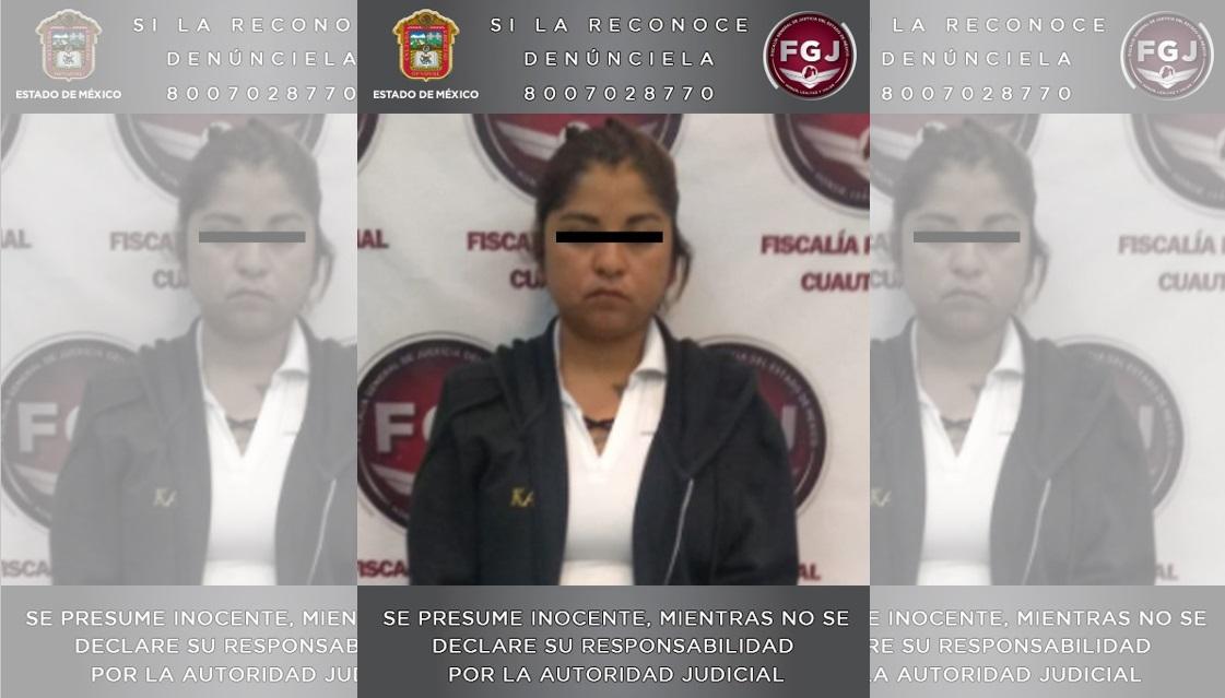 MUJER INVESTIGADA POR EL HOMICIDIO DE SU HIJO ES INGRESADA A UN PENAL ESTATAL