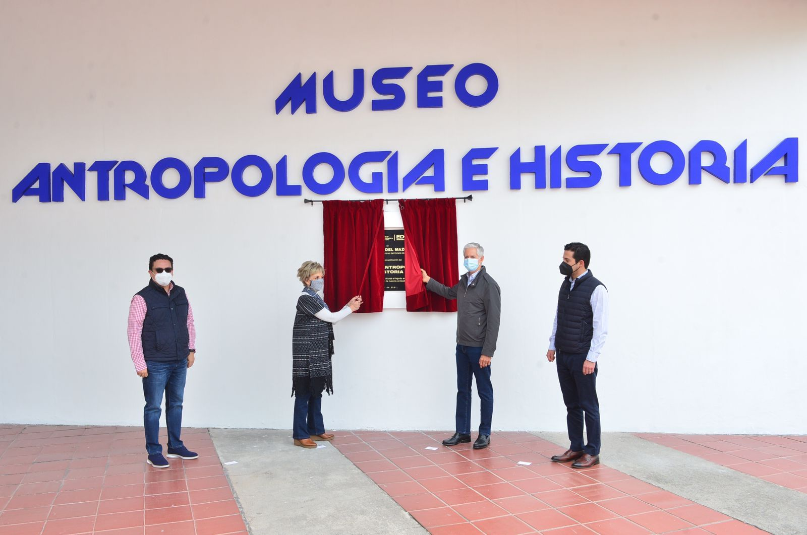 ENTREGA ALFREDO DEL MAZO REHABILITACIÓN DEL MUSEO DE ANTROPOLOGÍA E HISTORIA