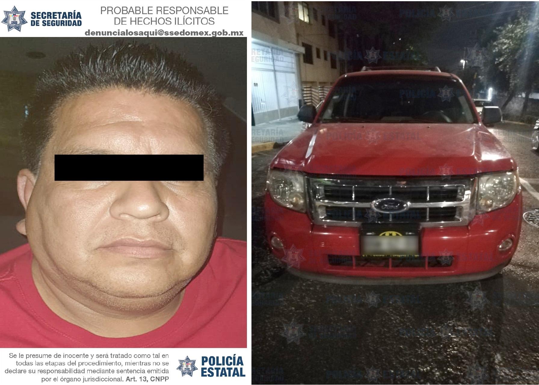 ASEGURAN UN VEHÍCULO UTILIZADO PARA COMETER ACTOS DE VANDALISMO DURANTE LA JORNADA ELECTORAL